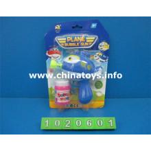 Venda quente brinquedos de plástico bubble gun (3 cores) (1020601)