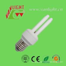 2ut3 8W CFL B22 lâmpada de poupança de energia
