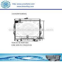 Auto Kühler für MITSUBISHI MONTERO 83-89 2.6L L4 AT OEM: MB221901 MB221902 MB222340 MB356156 MB356850 MB3568507