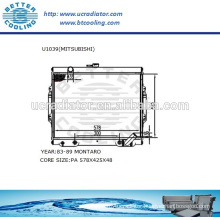 Auto Radiator For MITSUBISHI MONTERO 83-89 2.6L L4 AT OEM:MB221901 MB221902 MB222340 MB356156 MB356850 MB3568507