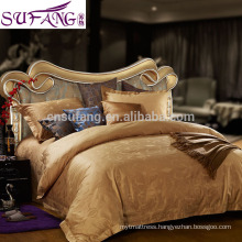 Reactive Printing 60S 100% Cotton Long Stapled Bedding Sets Knitted Jersey Bed Linen