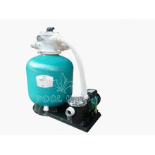 Plastic with Fiberglass Sand Filter with Pump Filtration System for Swimming Pool