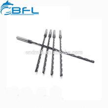 Brocas extra largas de perforación de refrigerante de flauta de carburo sólido de BFL para acero inoxidable