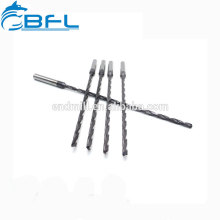 Peu de perçage de liquide de refroidissement de cannelure extra-large de carbure solide de BFL pour l'acier inoxydable