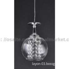 modern LED single pendant  lamp