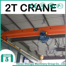 Explosion Proof Electric Single Girder Bridge Crane 2 Ton