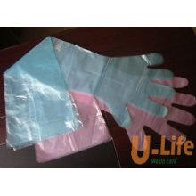 Длина пальцев перчаток (PE)