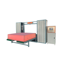 polyurethane waste sponge memory foam cutting machine