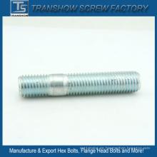 ASTM A193 B7 B7m Zinc Galvanizado doble rosca espárragos