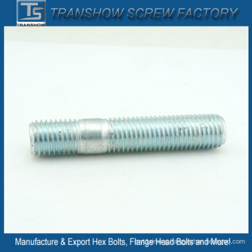 ASTM A193 B7 B7m Zinc Galvanized Double Thread Studs