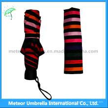 Outdoor Colours 3 Fold Small Pocket Parasol Umbrella
