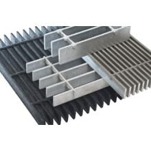 Изготовленные на заказ плоские оцинкованные стальные решетки сделаны в провинции Хэбэй Китая