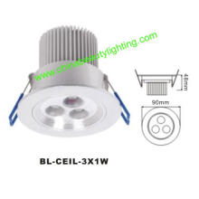 3W LED Light LED Downlight LED Ceiling Light