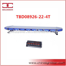 Aluminio lineal 88W LED Lightbar de advertencia para vehículos blindados (TBD08926-22-4T)