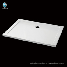 Economical waterproof rectangle Acrylic Shower tray