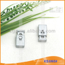Metal cord stopper or toggle for garments,handbags and shoes KS3065#