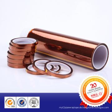 Polyimdie Tape für die Hochtemperaturmaskierung von Metallmaterial