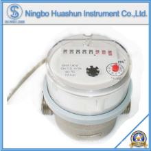 Medidor de agua AMR / Jet simple Tipo seco Medidor de agua de latón de 80 mm / Función de salida de pulso Medidor de agua