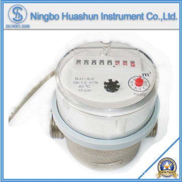 Single Jet Dry Type Water Meter with Pulse Output