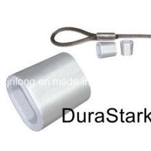 Стальной канат овальной алюминиевой втулки / феррулы (DR -Z0106)