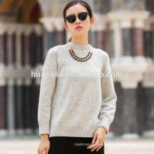 лучшие продажи женщин 100% кашемир свитер цветные очки