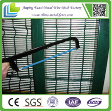 Galvanized and PVC Coated Anti Climb 358 Security Fence Galvanized Fence Wire