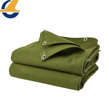 High strength polyester tarps for stretcher