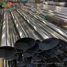 High Quality Alibaba China 201 316 316L 304L 304 51mm Stainless Steel Round Pipe