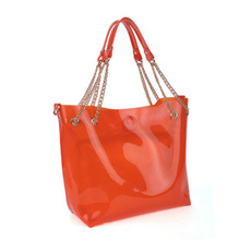 PVC Candy Lady′s Beach Bag