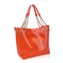 PVC Candy Lady′s Beach Bag