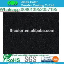 Pintura electrostática pulverización de polvo negro metálico pintura en polvo