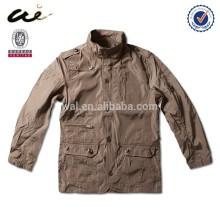 Lightweight khaki windbreaker men jacket;men fall jacket;men fashion jacket