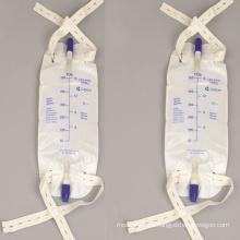 Bolsa de drenaje de bolsa de orina de PVC para uso hospitalario disponible para adultos