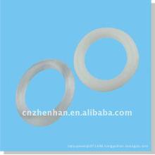 plastic curtain rings,clear Roman blind cord rings, roman blind accessory, curtain accessories