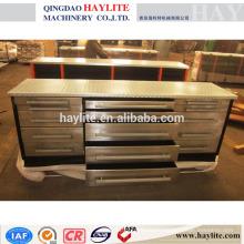 15 tiroirs en acier inoxydable banc de travail en métal banc de travail