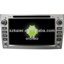 Leitor de DVD do carro do sistema de Android para Peugeot 408 com GPS, Bluetooth, 3G, iPod, jogos, zona dupla, controle de volante