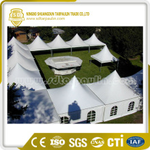 Waterproof PVC Tarpaulin Poly Coated Fabric Tent