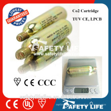 High Pressure Small CO2 Cylinder Gas Cylinder 18g CO2 Cartridge