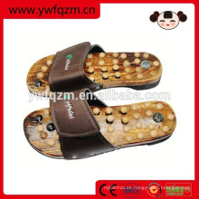 Zapatos de madera baratos al por mayor del masaje del pie
