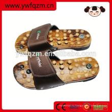 Оптовая дешевые деревянные массаж ног обувь