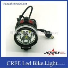 2400Lumen recarregável levou luzes de bicicleta luz de bicicleta de segurança luz levou levou luz