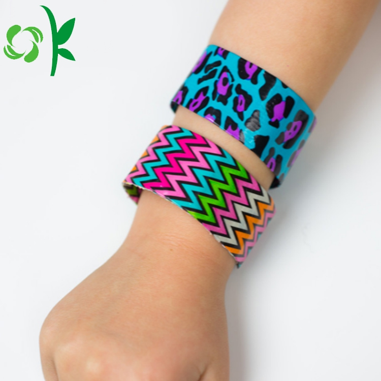 Silicone Slap Bracelet For Kids