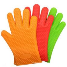 Lebensmittel Standard Silikon Hitze Isolierende Handschuhe
