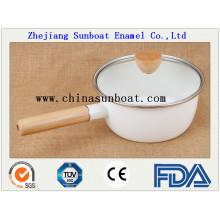 Manufatura Enamel Milk Pot Soup Pot
