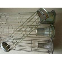 Cage de filtre de sac de poussière de Silicone d'Organo avec le venturi d'acier au carbone