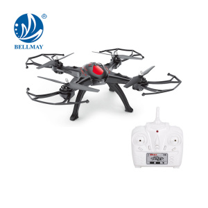 2.4 GHz 6 Channel 6 Axis Gyroscope Multi-function Flying Drone with Altitude Hold Headless One Key Return Drone Camera Optional