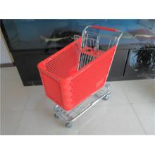 Plastikeinkaufswagen für Einkaufslaufkatze