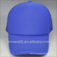 Chapéus azuis lisos