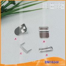 Pantalones de metal de latón gancho y barra BM1024
