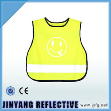 colete reflector de segurança criança de tráfego alta visibilidade